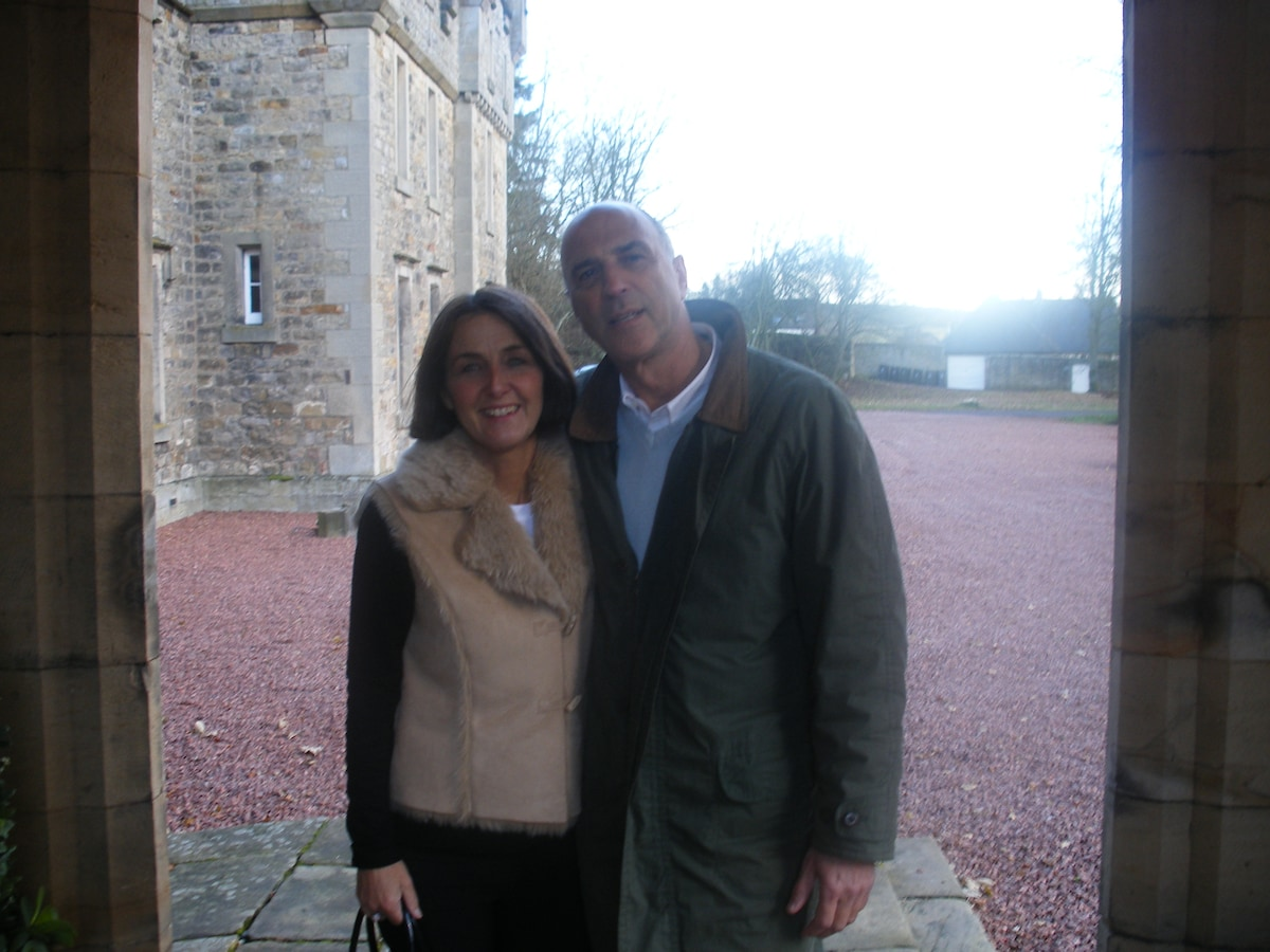 Carol And Les From Allenheads, United Kingdom