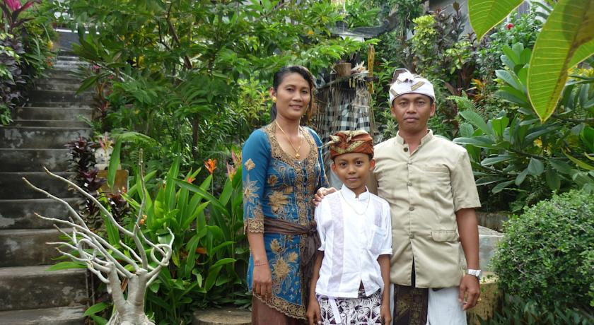 Wayan With Family from Abang