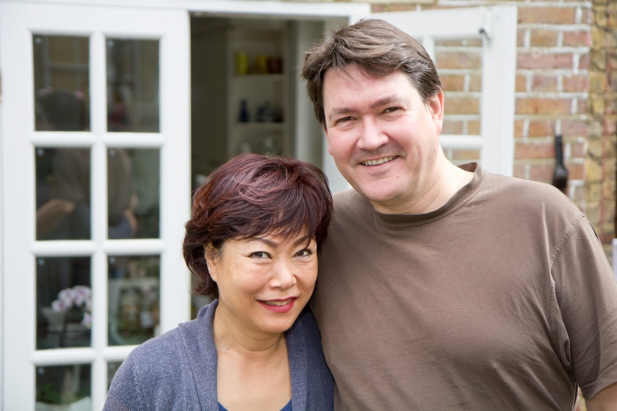 Rob & Emiko from London