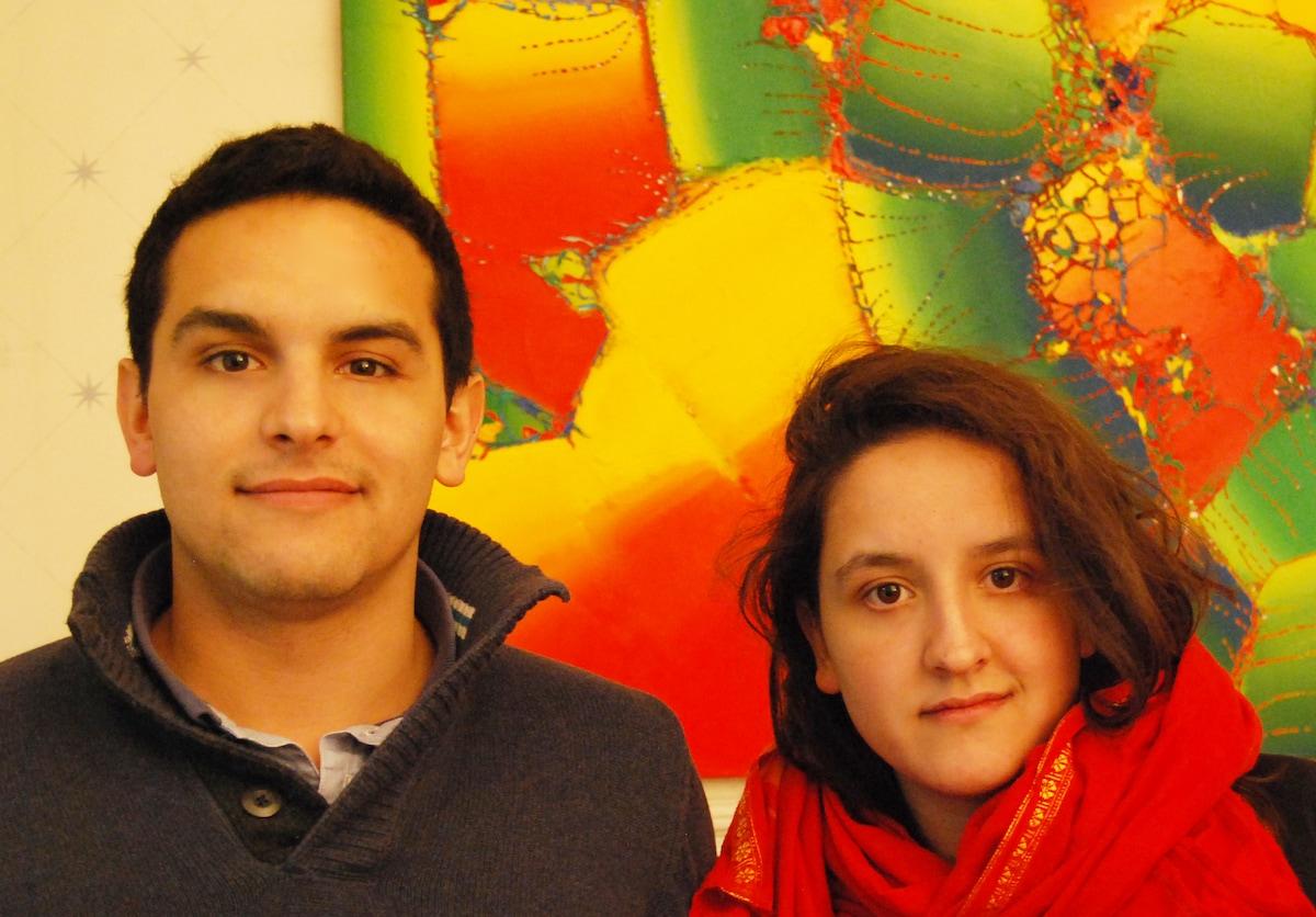 Alec & Cecile from New Delhi