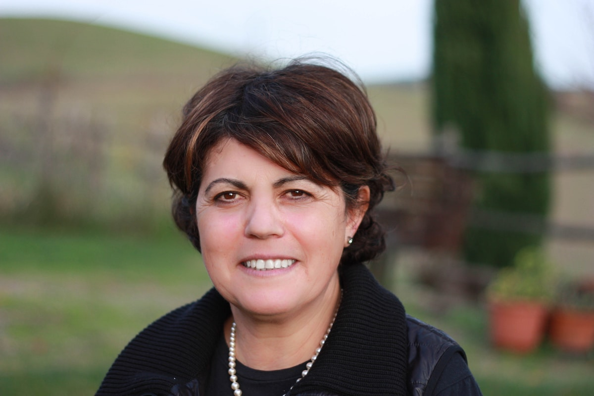 Angela From Pienza, Italy