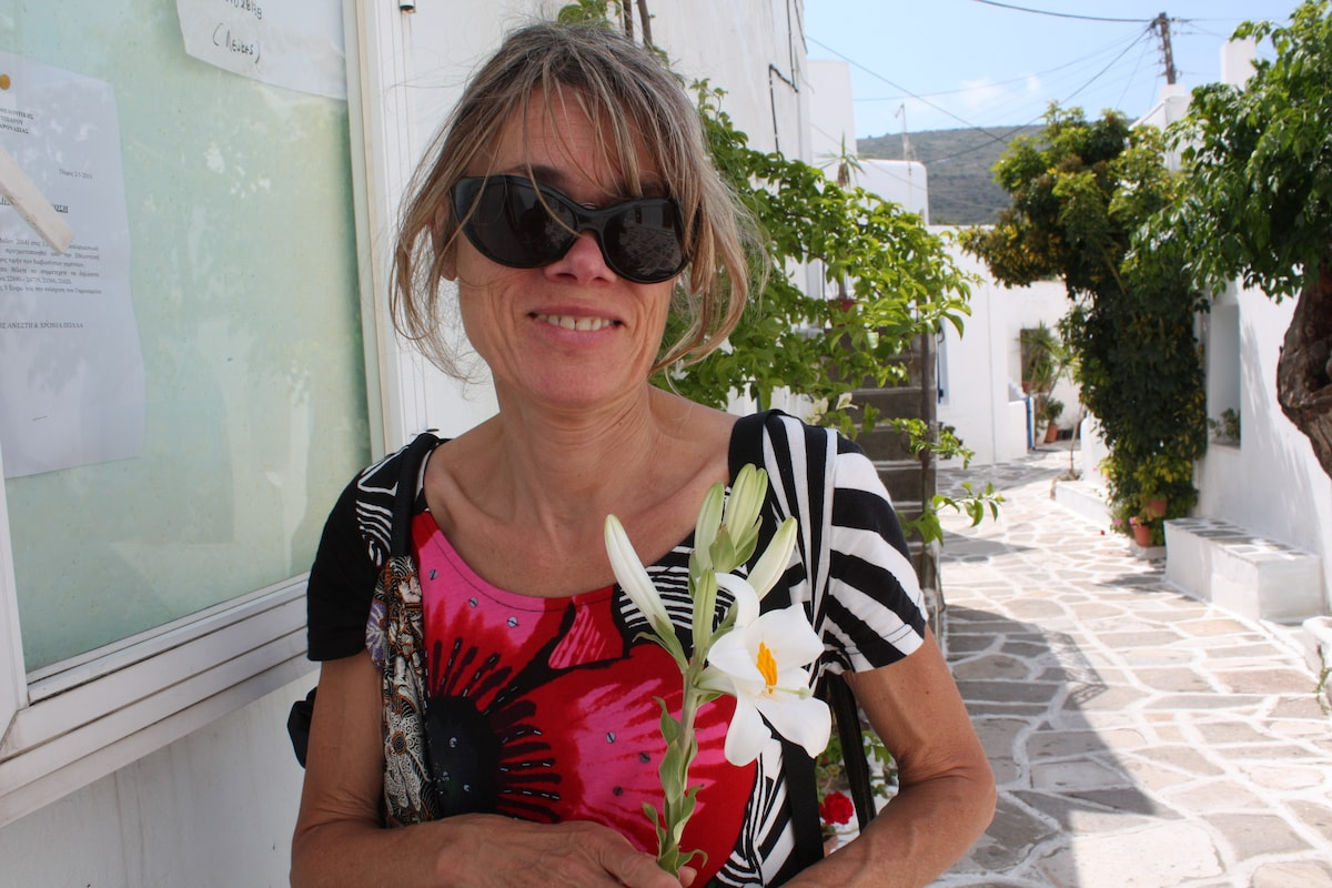Michèle From Paros, Greece