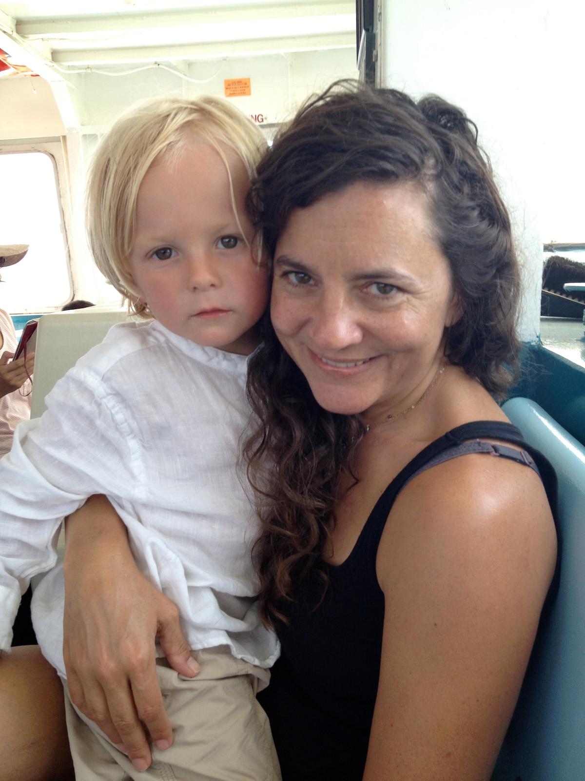 I'm a documentary filmmaker and single mom.
