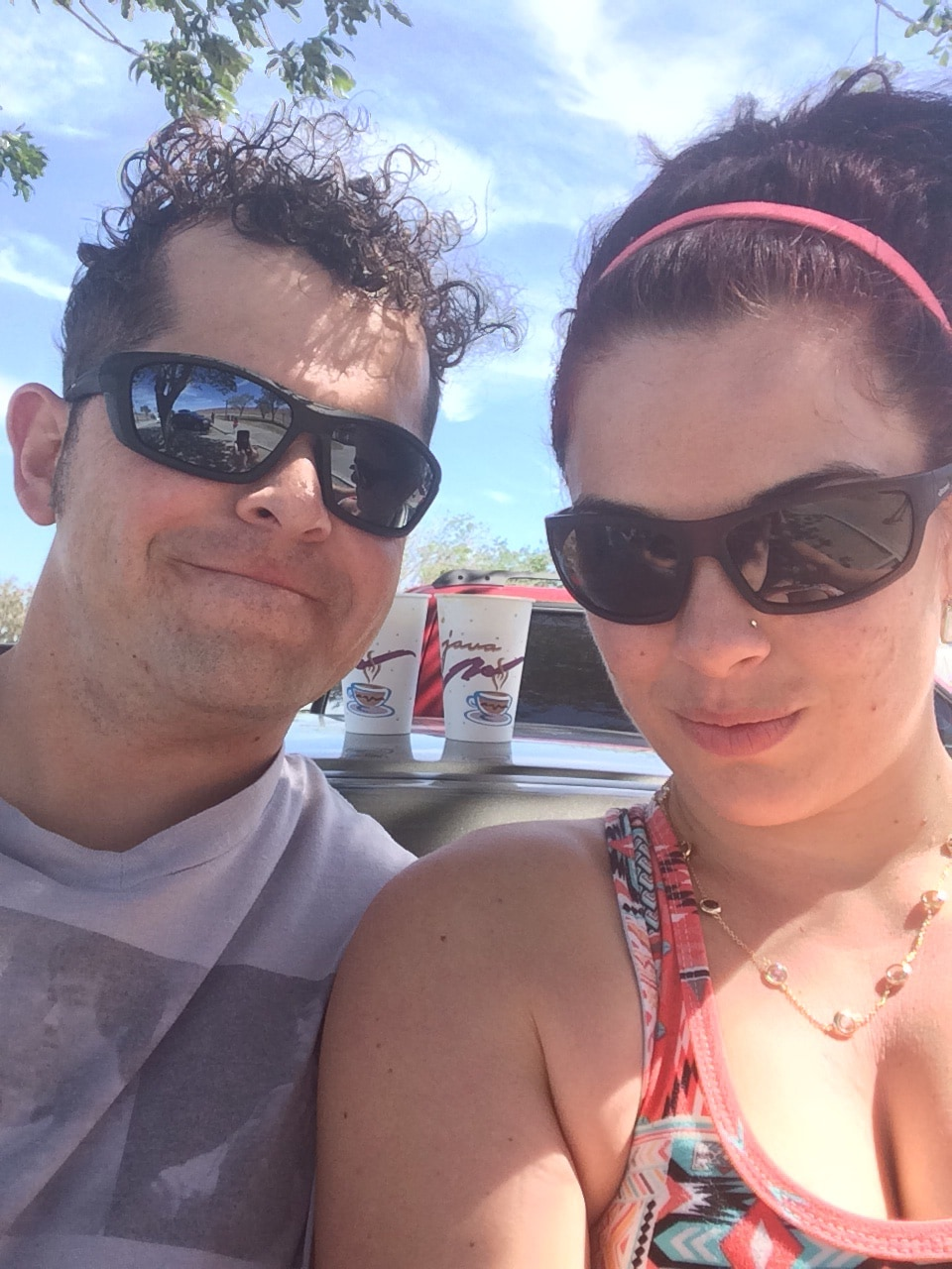 My husband, Eric and I love to travel--especially