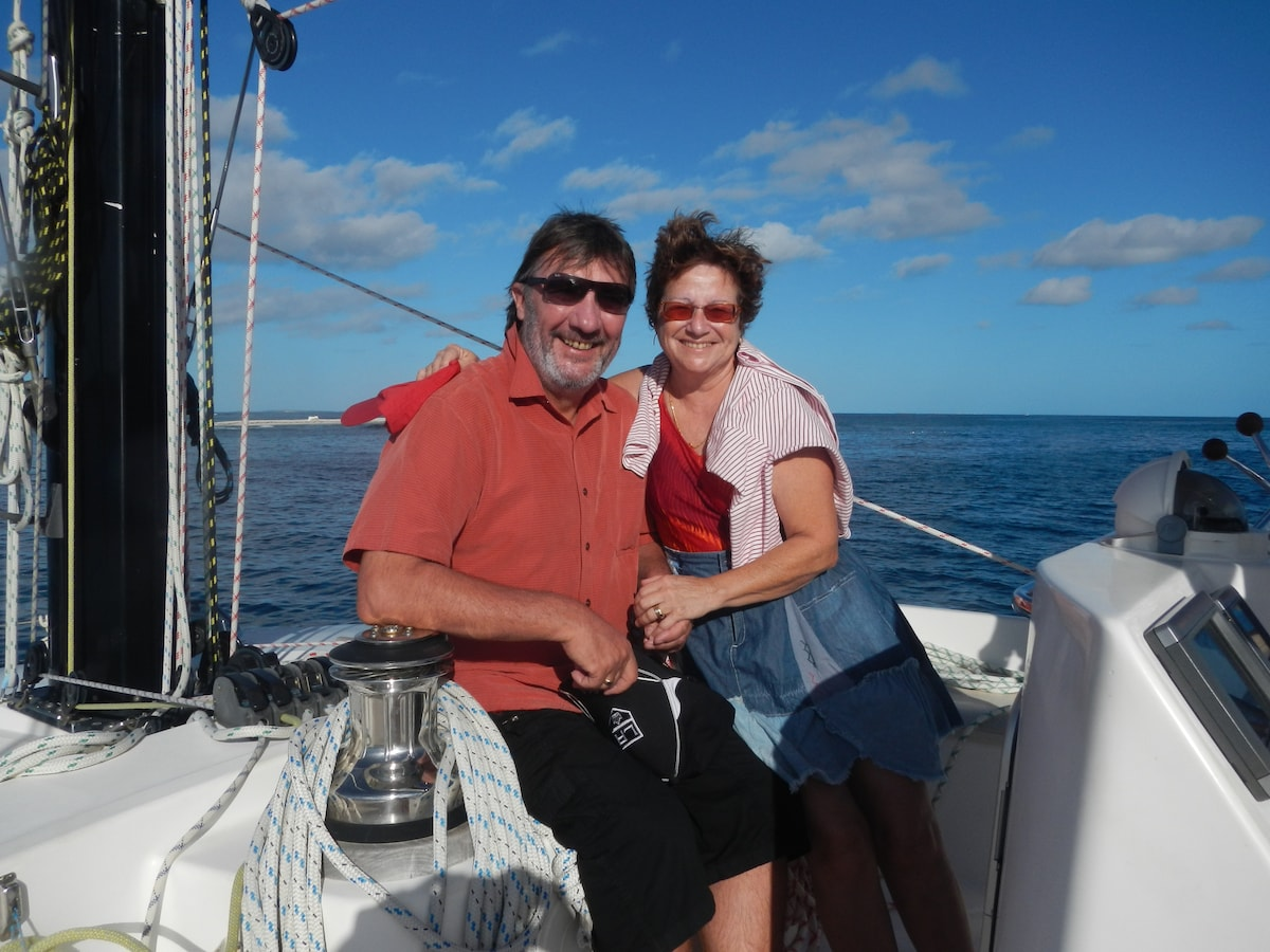 Gilles & Florence from Agde