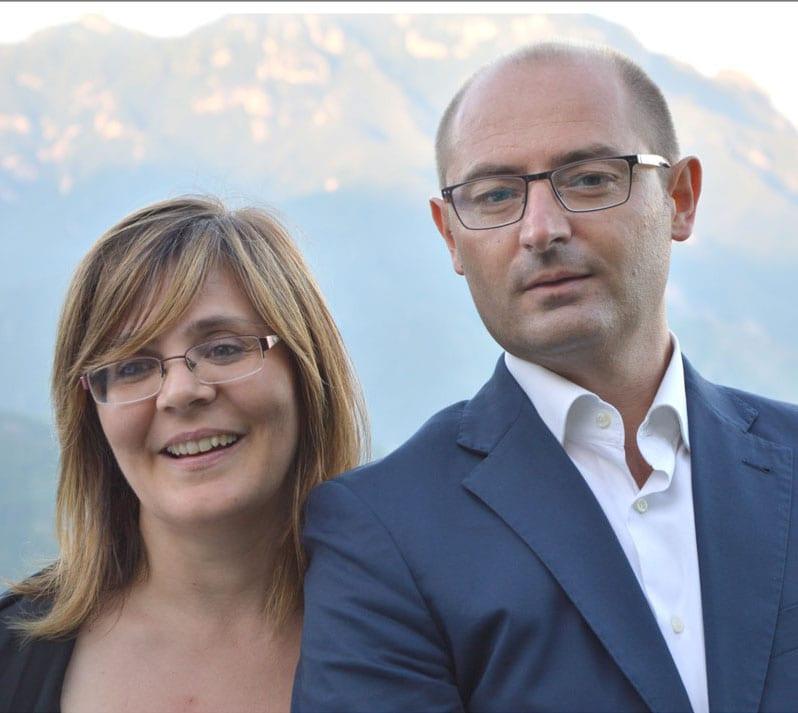 Emanuele E Angela From Cortona, Italy