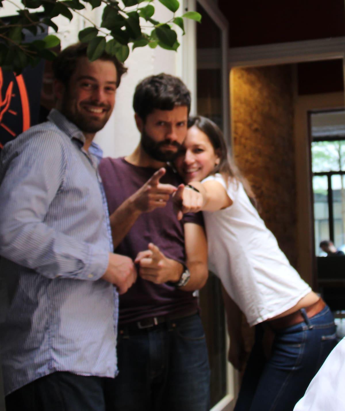 Niklas, Maxime & Linda from Paris