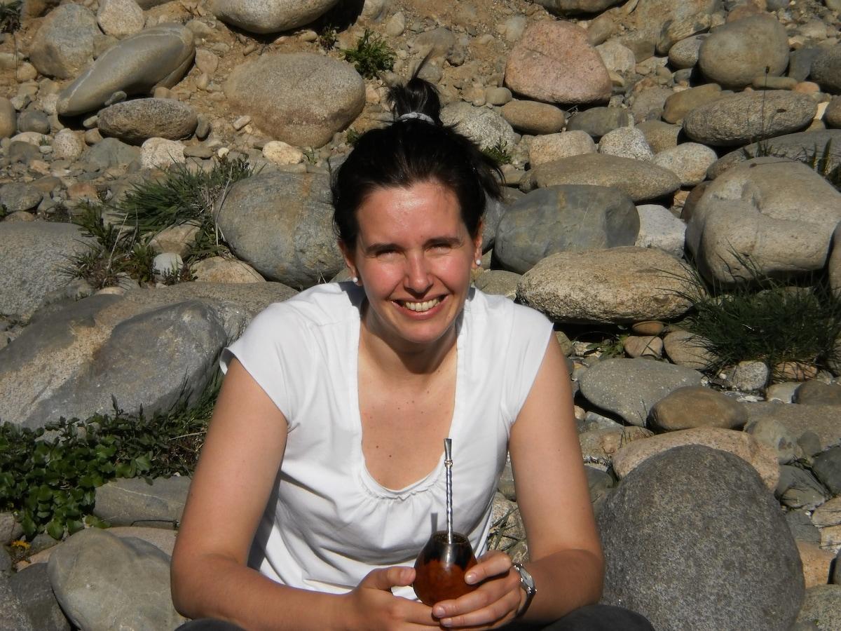 Maria Marta da El Bolsón, Argentina