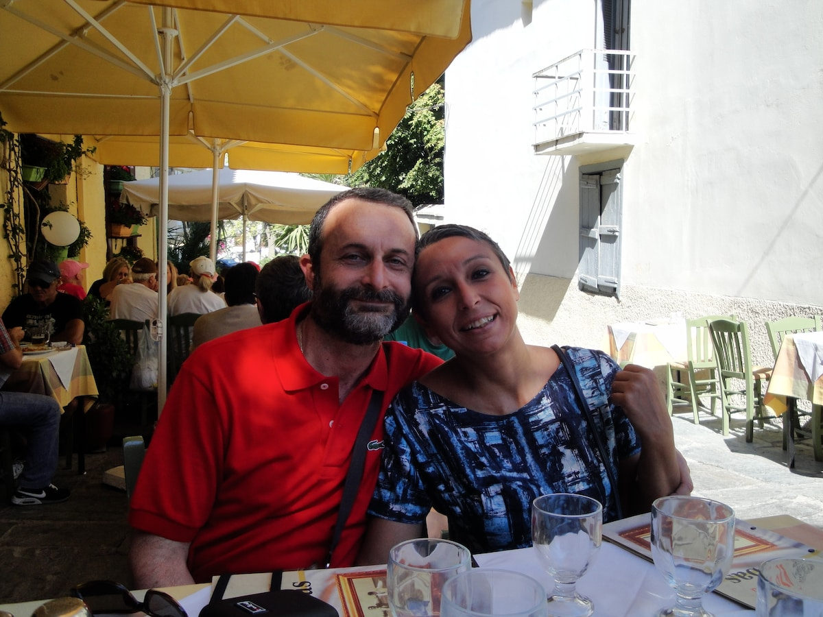 Lila And George from Athina