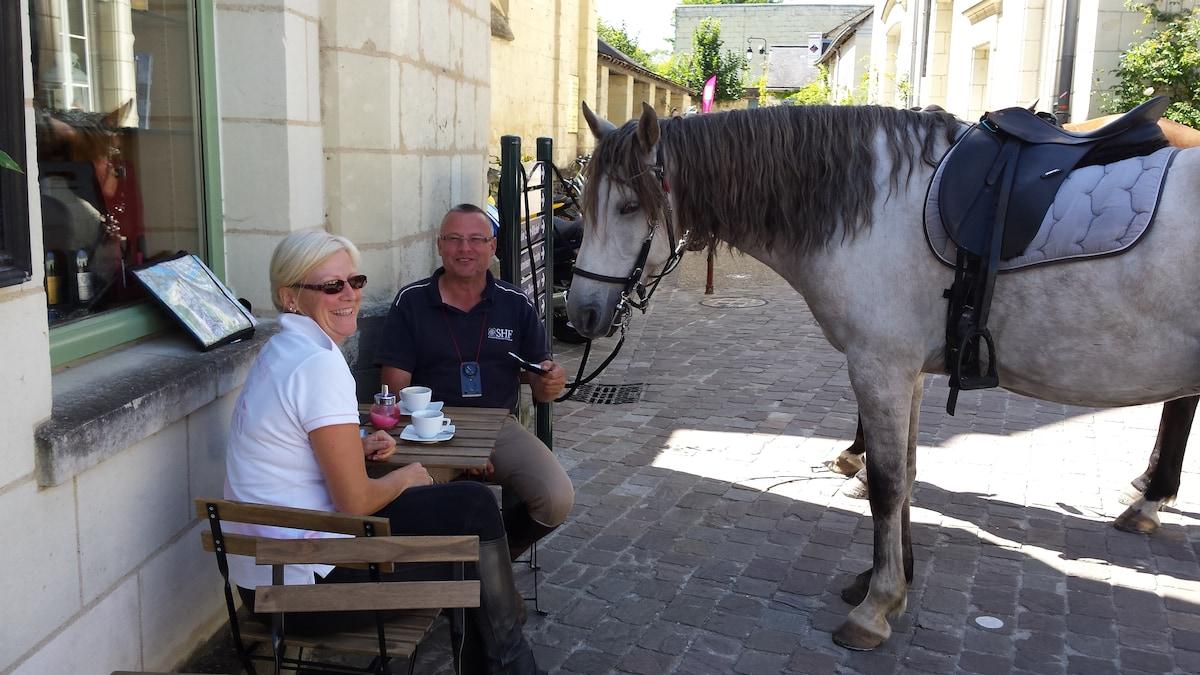 Magali & Laurent From Malicorne-sur-Sarthe, France