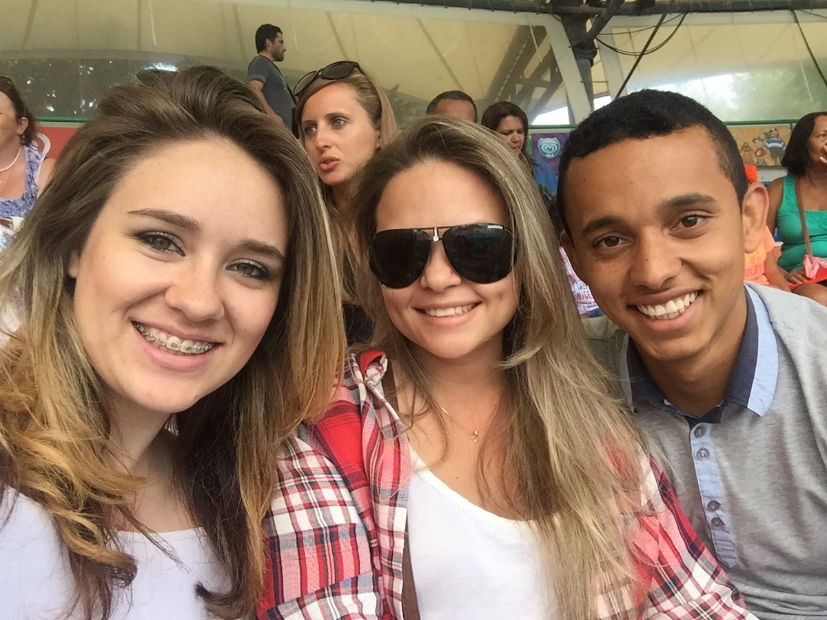 Kleber, Glaucia And Camila From Seixal, Portugal