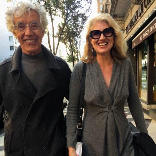 Tall, vivacious interior designer, married to arti