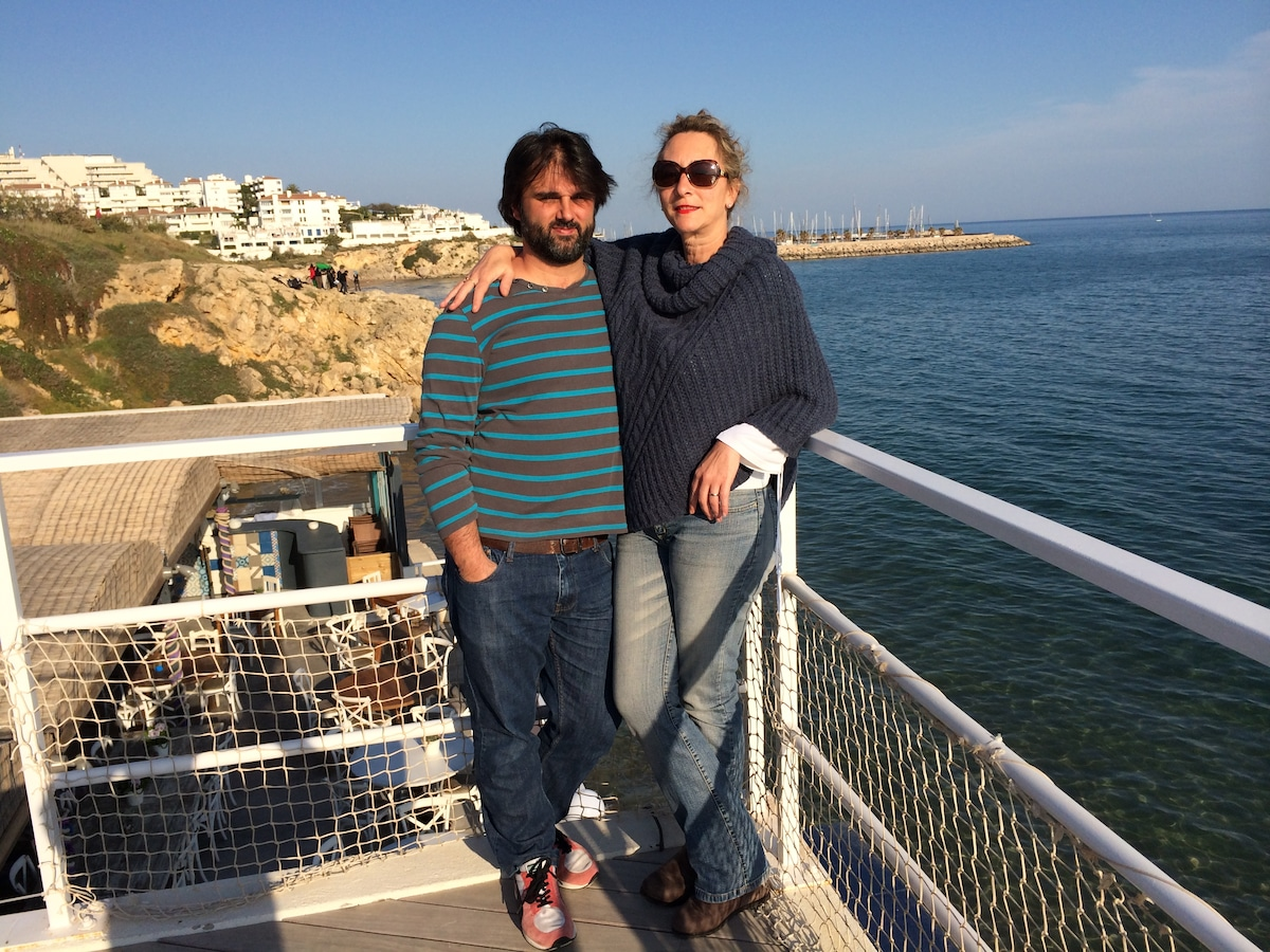 José And Carmen From Sitges, Spain