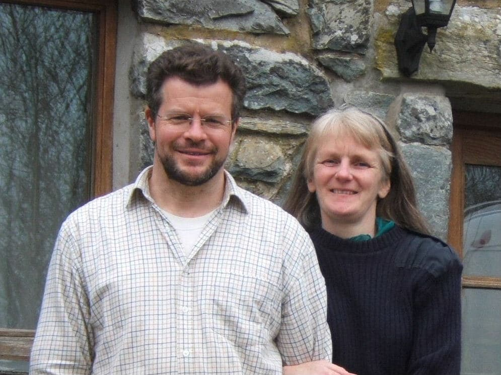 Tim & Phillipa from Llanbedr