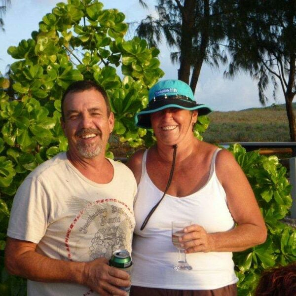 John & Elspeth from Tin Can Bay