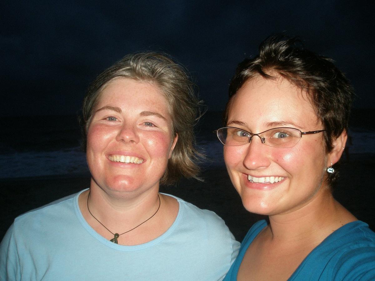 Laura & Gosia from Portland