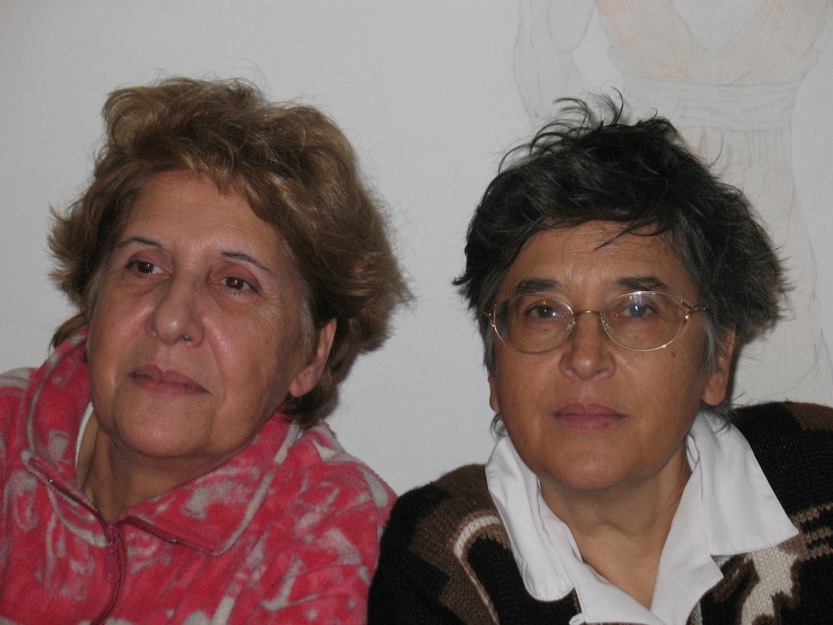 We are two sisters : Giuseppina is an architect a
