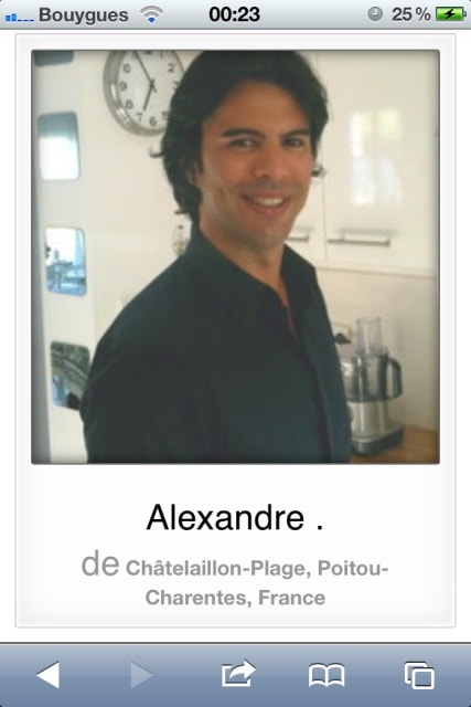 Alexandre from Châtelaillon-Plage