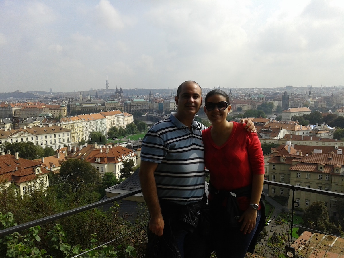 Pedro & Marjorie From Linares, Spain