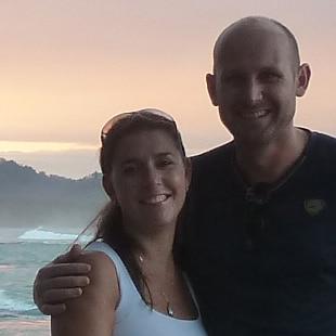 Lettika & Gijs from Playa Matapalo, Savegre
