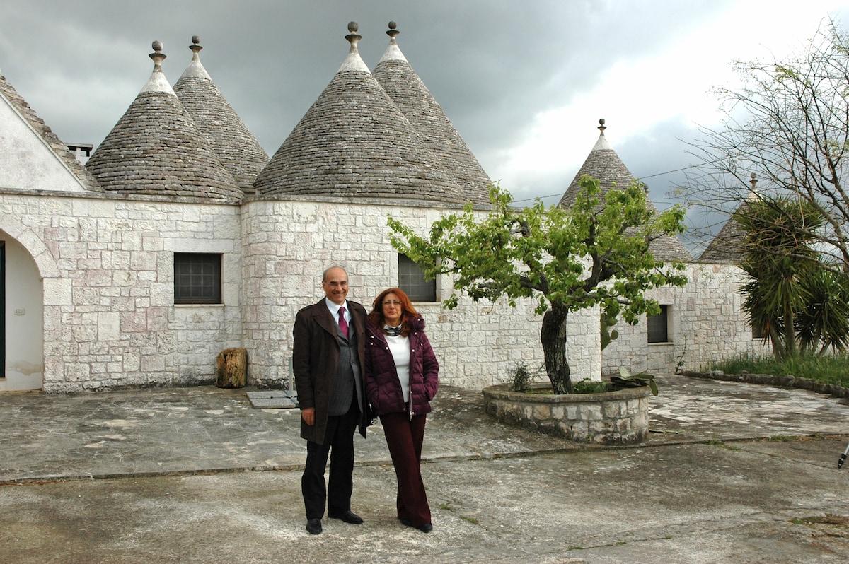 Antonella gestisce il b&b insieme a suo marito Uba