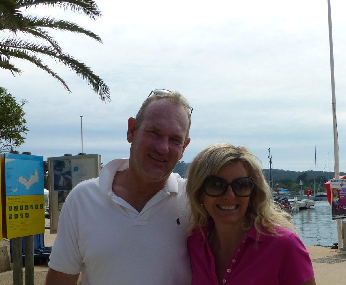 Patricia Et Jean-Pierre From Hyères, France