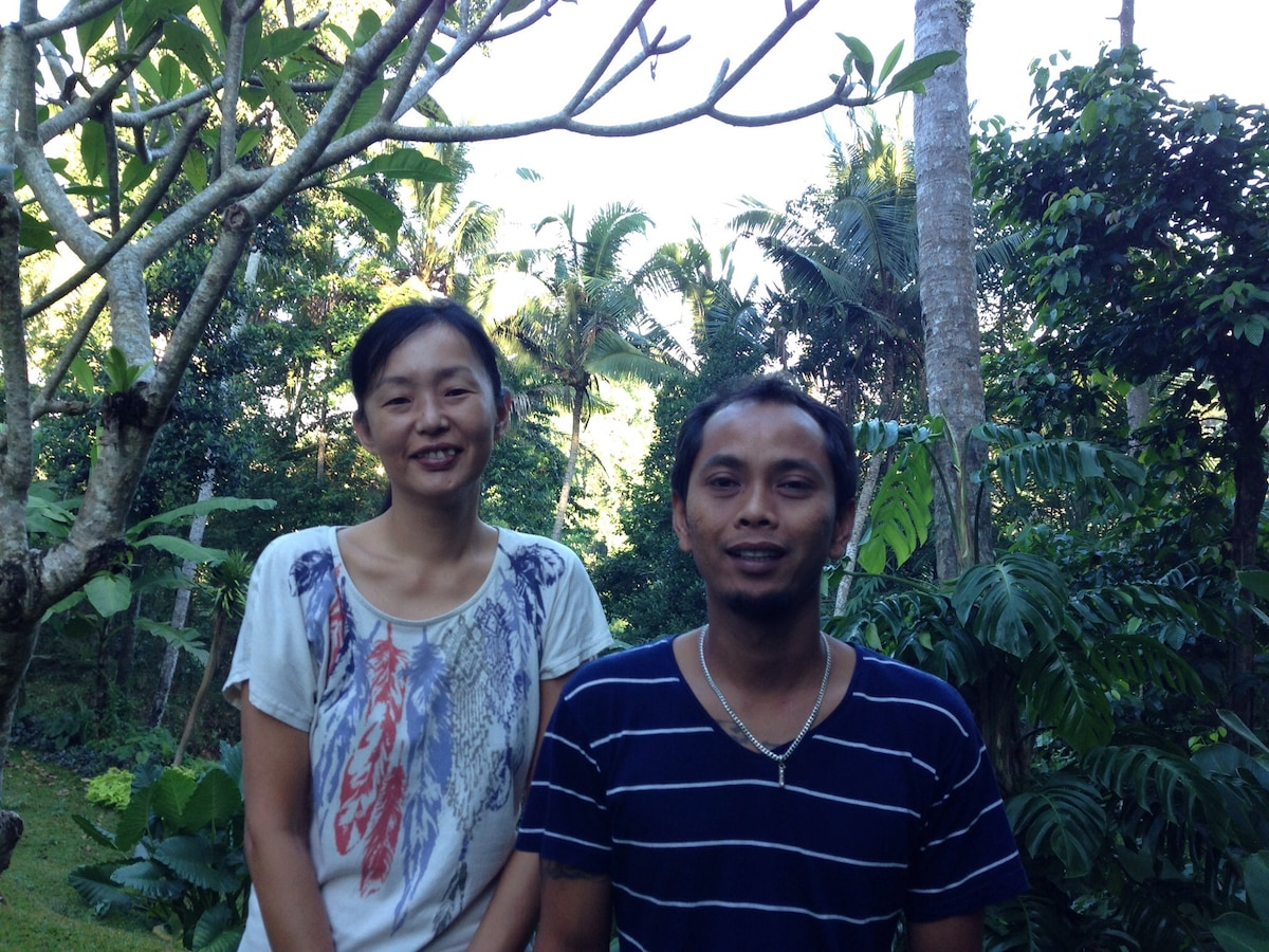 Wayan And Mari from UBUD