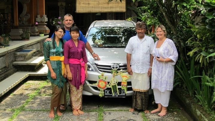 Mr Nyoman Parta And Ms Vicki from Ubud