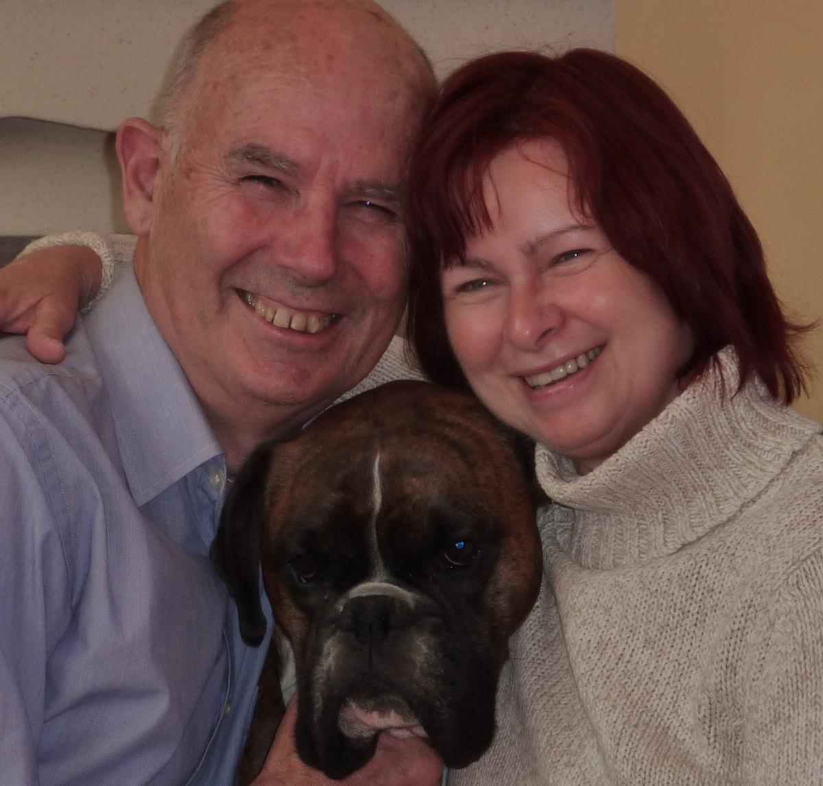 Peter & Anne from Cheltenham