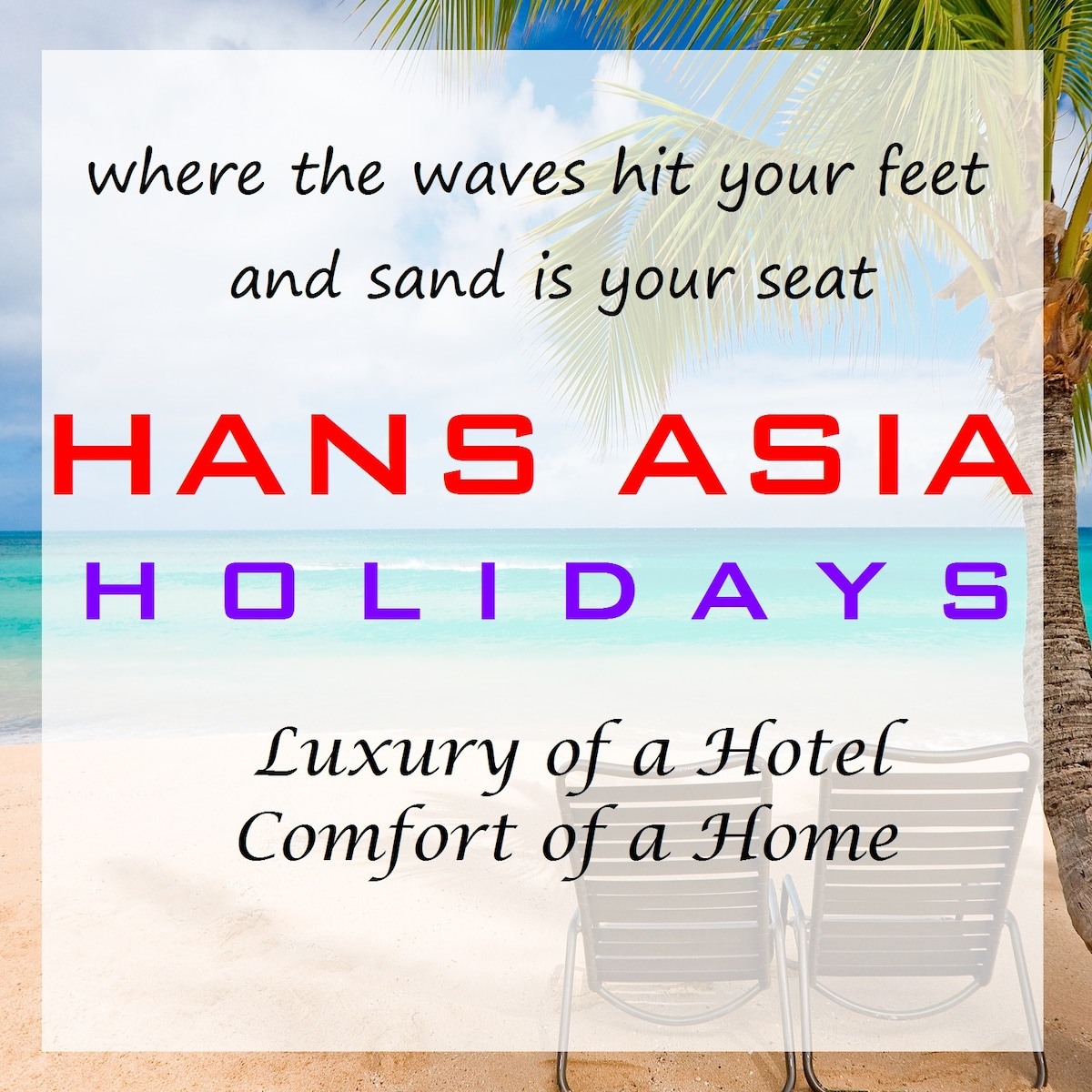 Charming and relaxing is exactly what Hans Asia h