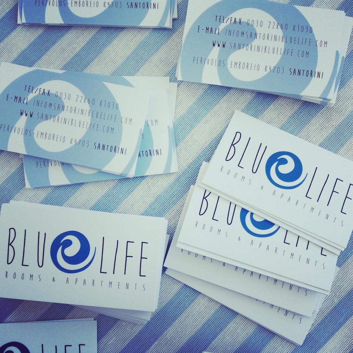 Bluelife from Santorini