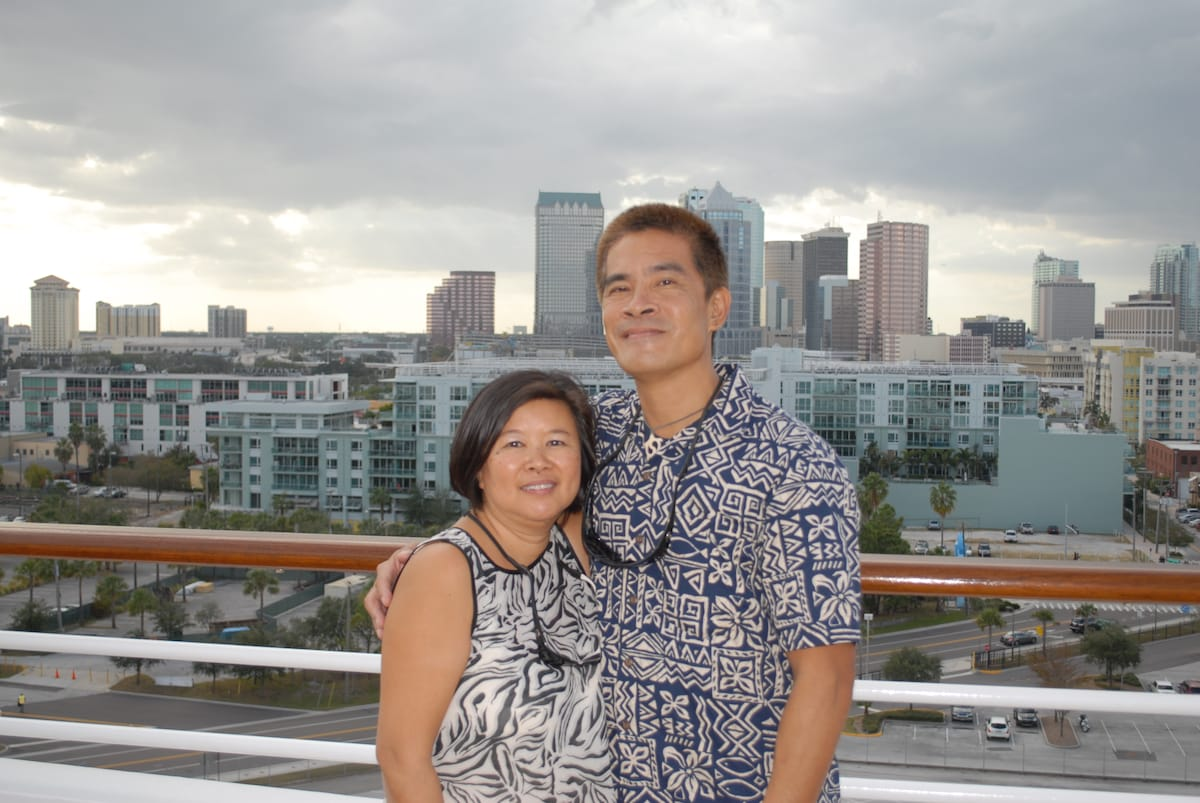 Danny And Brenda Chin from Holmes Beach