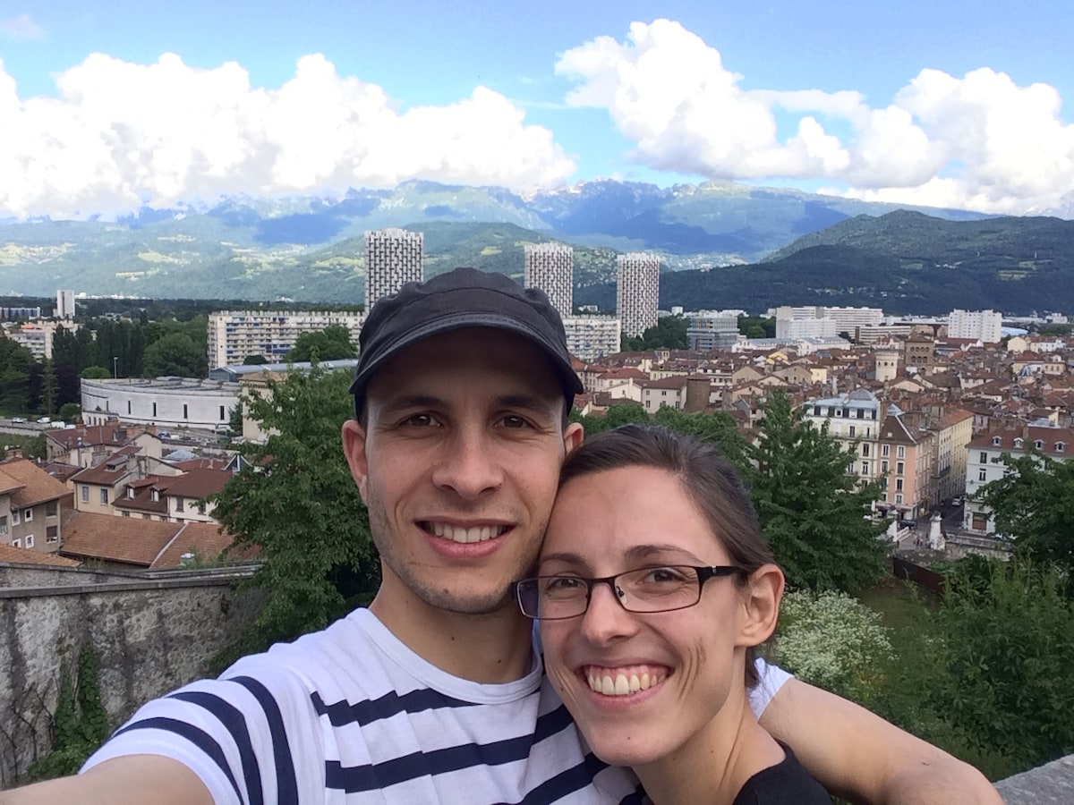 Ariane & Nicolas From Grenoble, France
