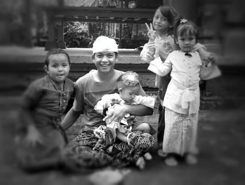 I am a Balinese.