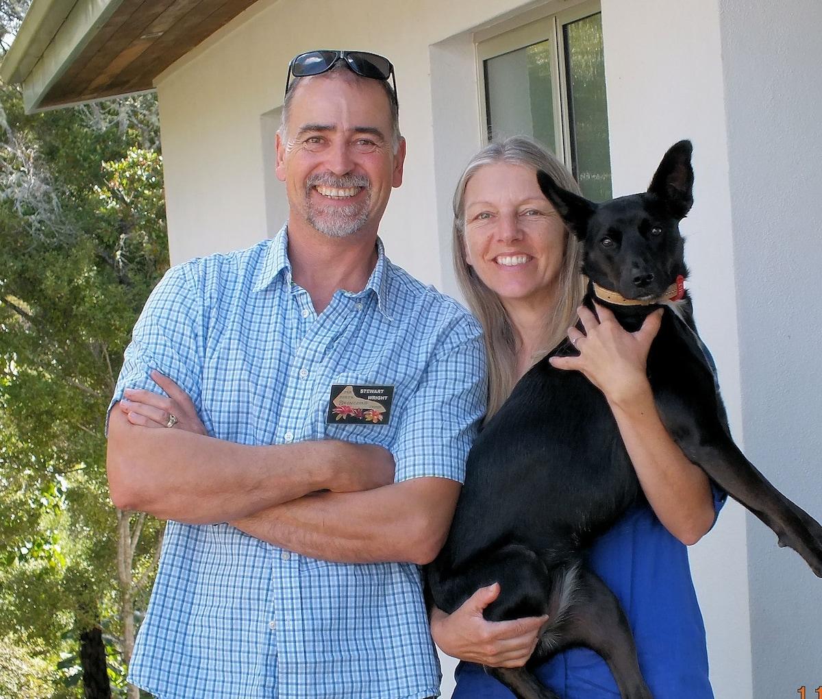 Stewart & Sandy from Opua