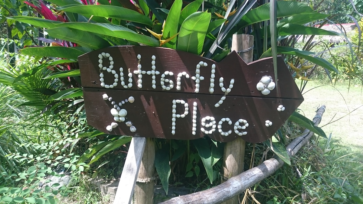 Butterfly Jungle Travelers-House.