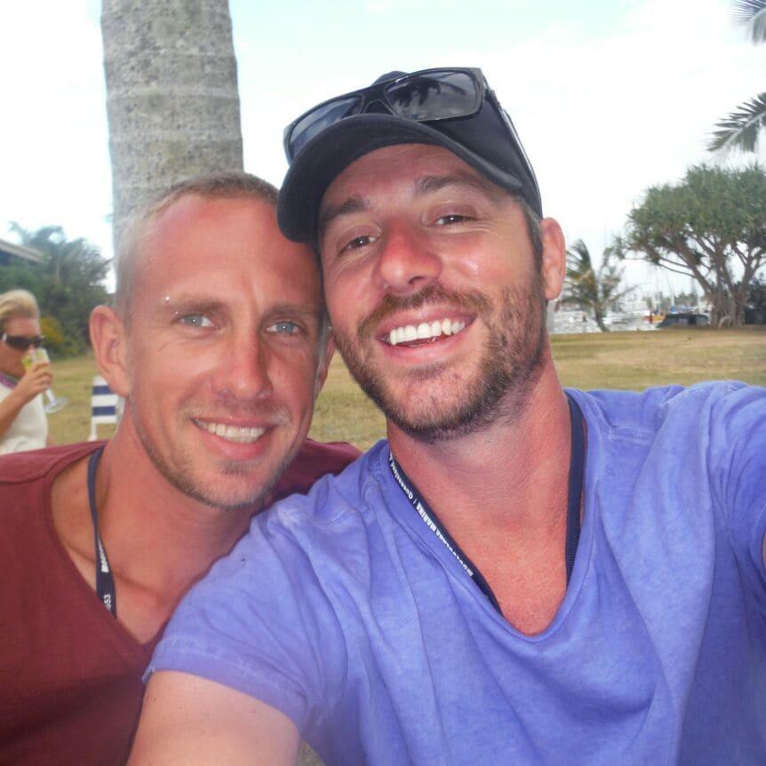 Matt And Harley from Ringarooma