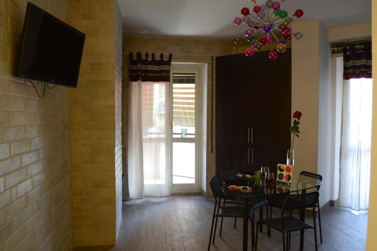 Abbiamo ristrutturato un appartamento in stile mod