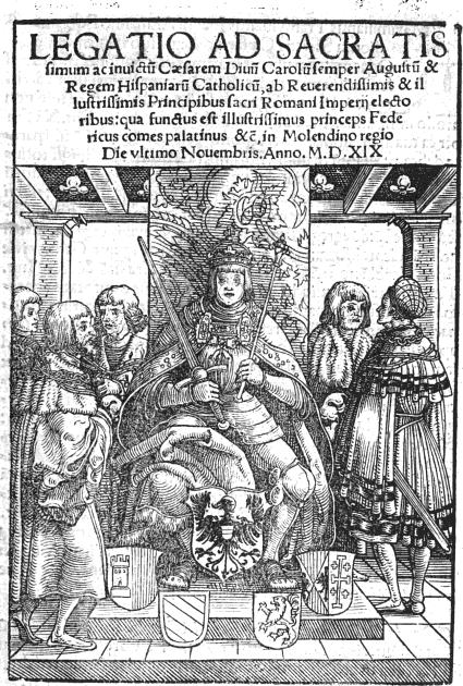 En el año 1519 Carlos I de las Españas y V de Alem