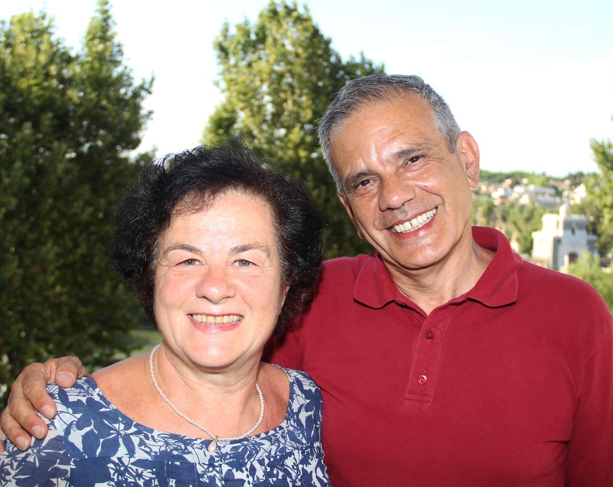 Io e mia moglie Ornella saremo felici di accoglier