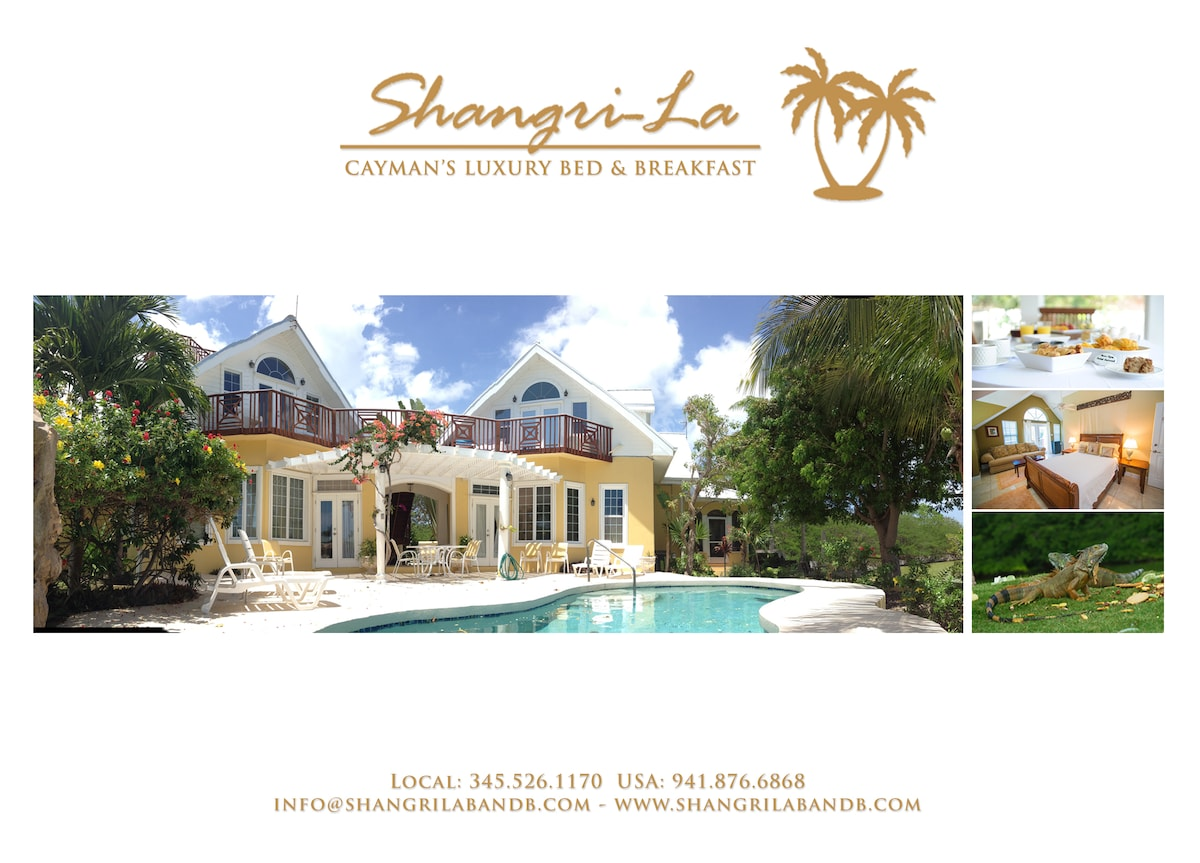 Shangri-La Bed And Breakfast Ltd From Grand Harbour, Cayman Islands