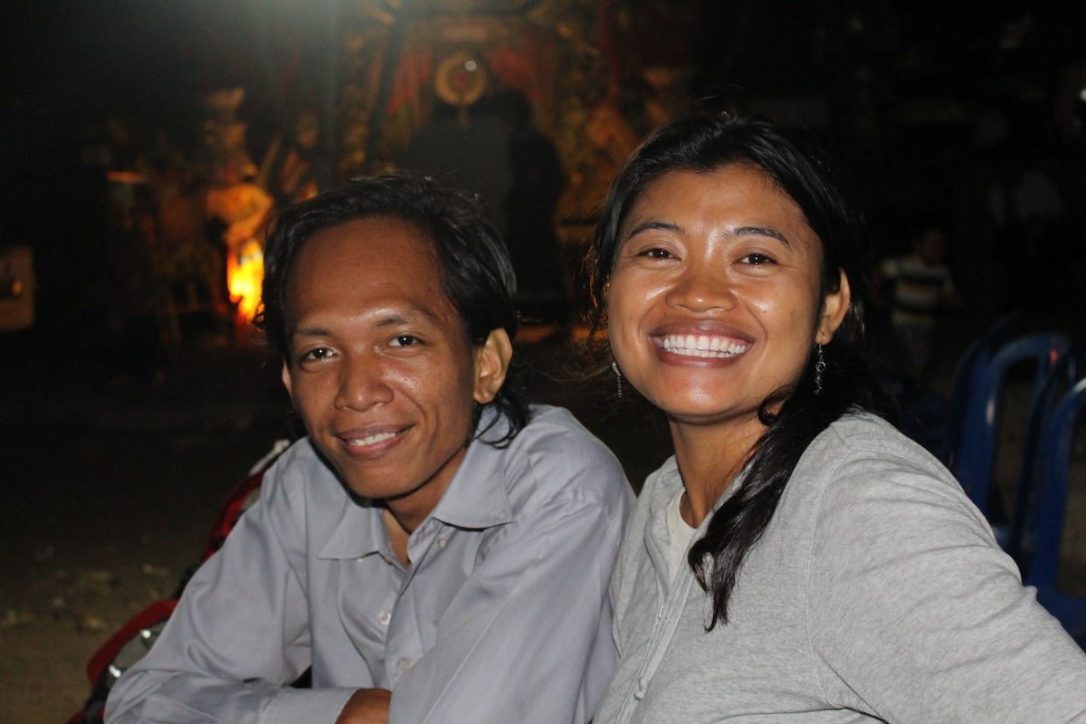 Kris And Wayana From North Kuta, Indonesia
