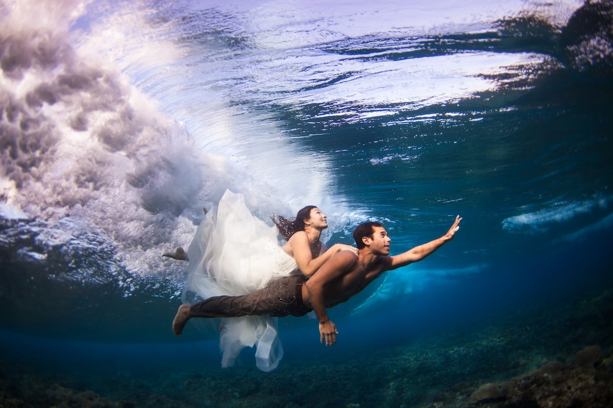 We're from Hawaii, love to surf, and love sharing