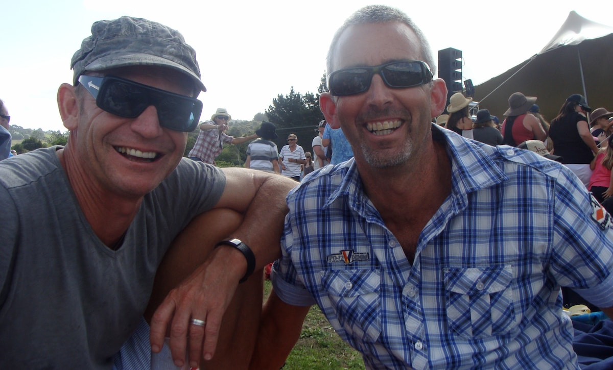 Grant & Darrell From Waipu, New Zealand