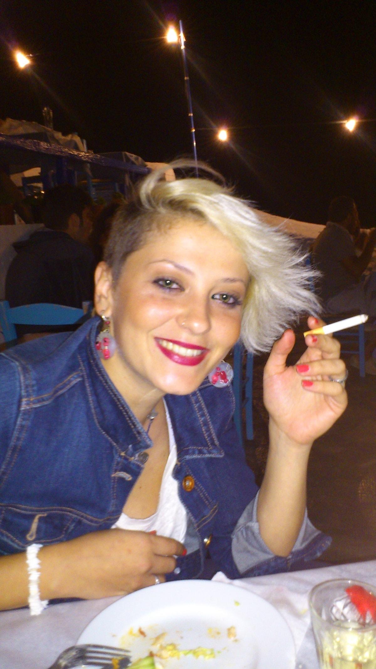 Alexandra From Thessaloniki, Greece