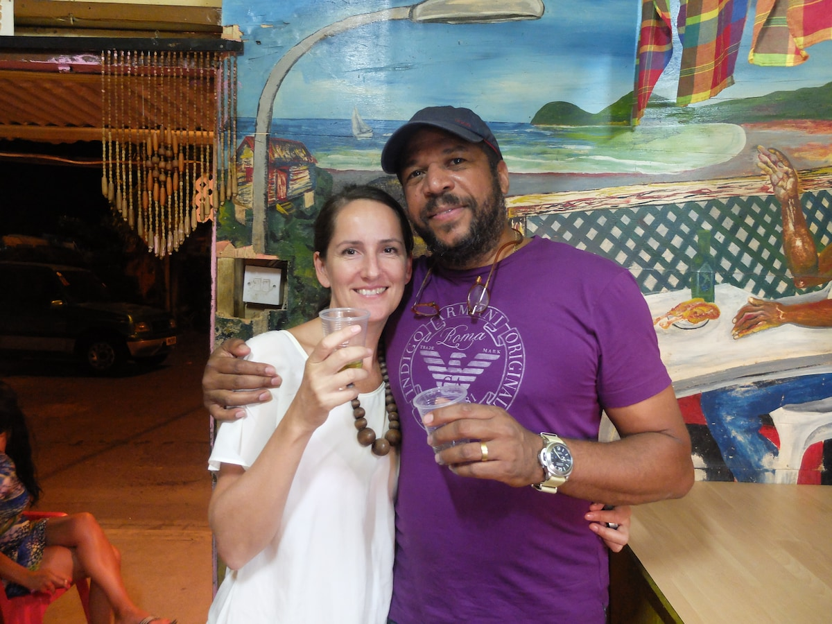 Kate And Patrick From Portsmouth, Dominica