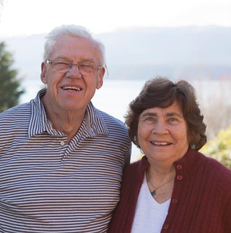 Chris And Barbara from Lake Tarawera