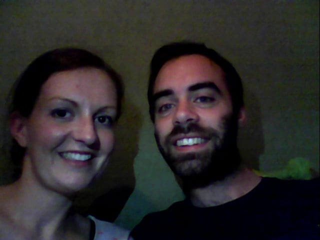 We are a married couple from Hobart, Australia in