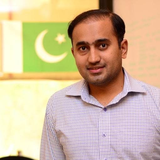 Kamran from Islamabad