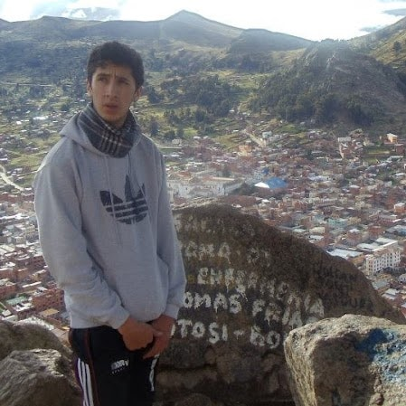 Javier Rafael From El Alto, Bolivia